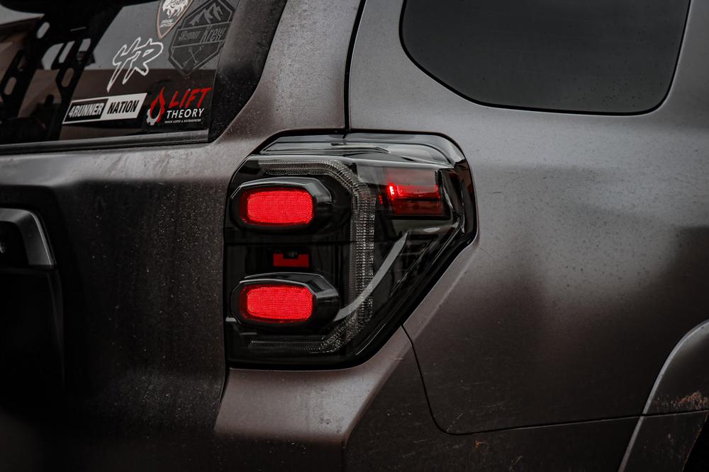 Matte Black 4Runner Led Taillight Morimoto XB