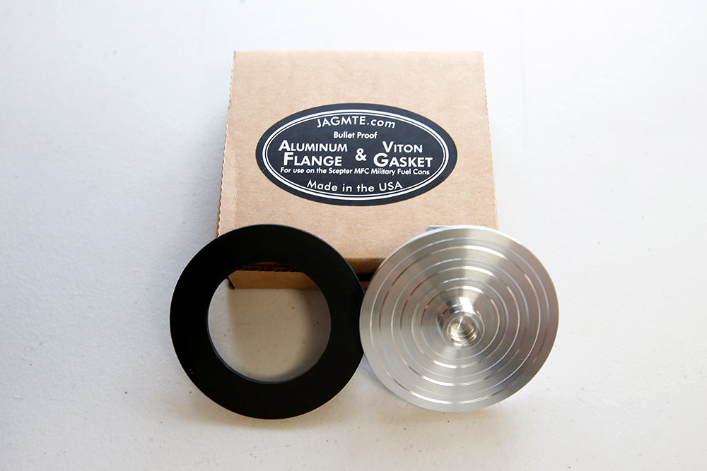 Scepter Fuel Can Flange and Gasket Upgrade