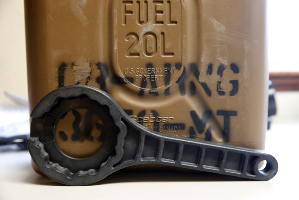 JAGMTE Wrench for Fuel and Water Cans