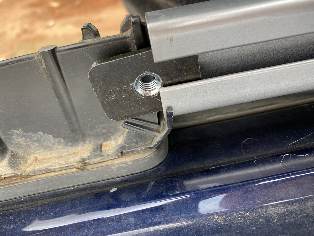Installing Capture Nuts in 4Runner Factory Roof Rails
