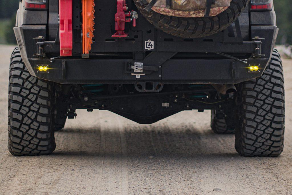 5th Gen 4Runner C4 Fabrication Rear Bumper
