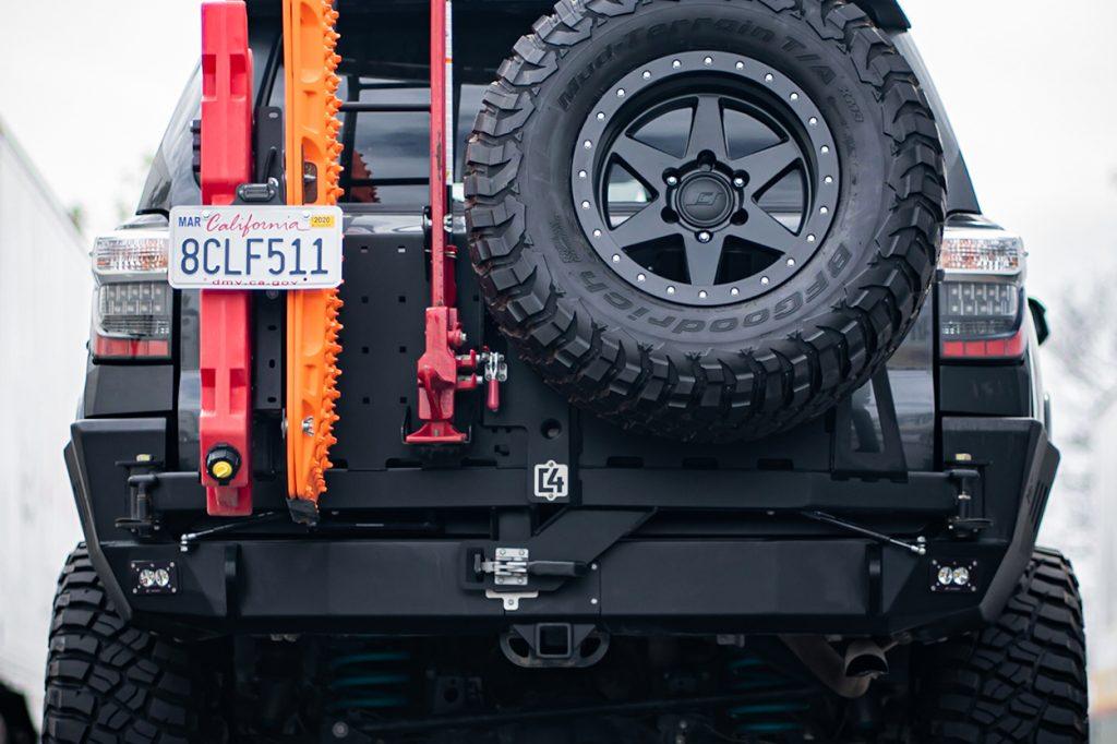 Accessories for 5th Gen 4Runner Rear Tire Swingout