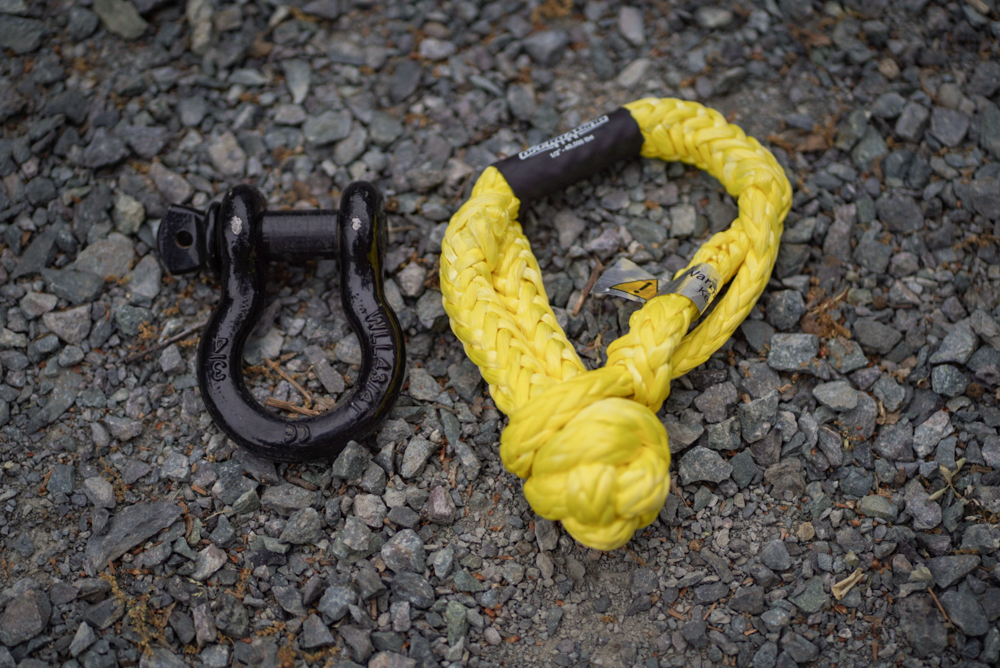Offroading Gear Soft Shackle Vs D-Ring