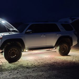 The Next Innovation in Rock Lights - A Review On Lux Lighting Systems for the 5th Gen 4Runner