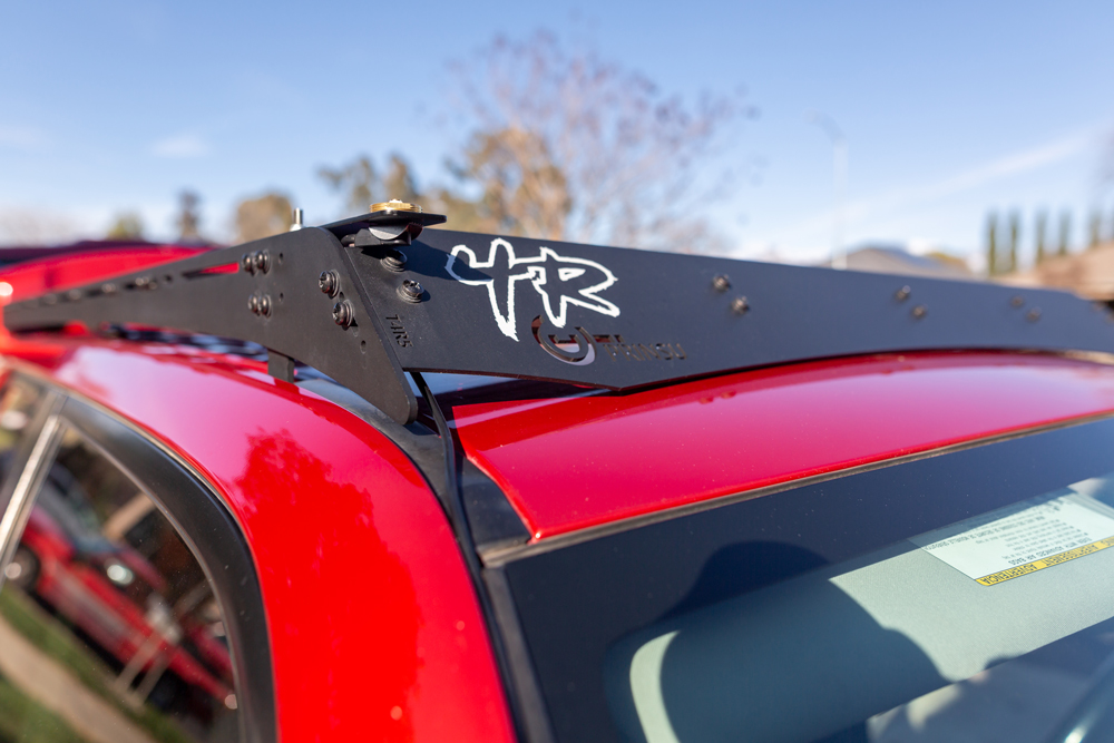 Midland MXT Radio Install Guide - Center Console to Prinsu Roof Rack on 5th Gen 4Runner
