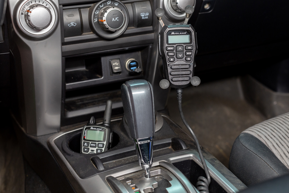 Midland MXT Radio Install Guide - Center Console to Prinsu Roof Rack