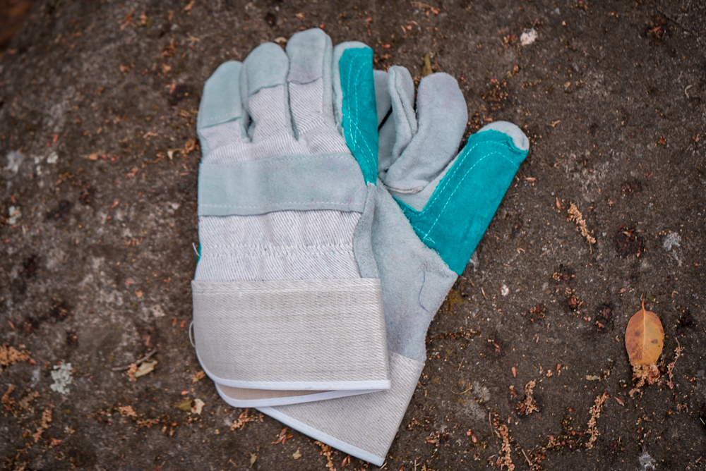 Offroading Gear Leather Gloves