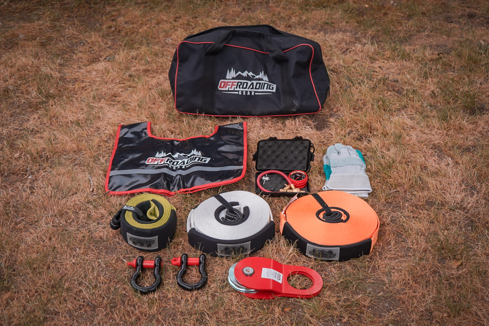 Offroading Gear Recovery Kit Complete Recovery Kit