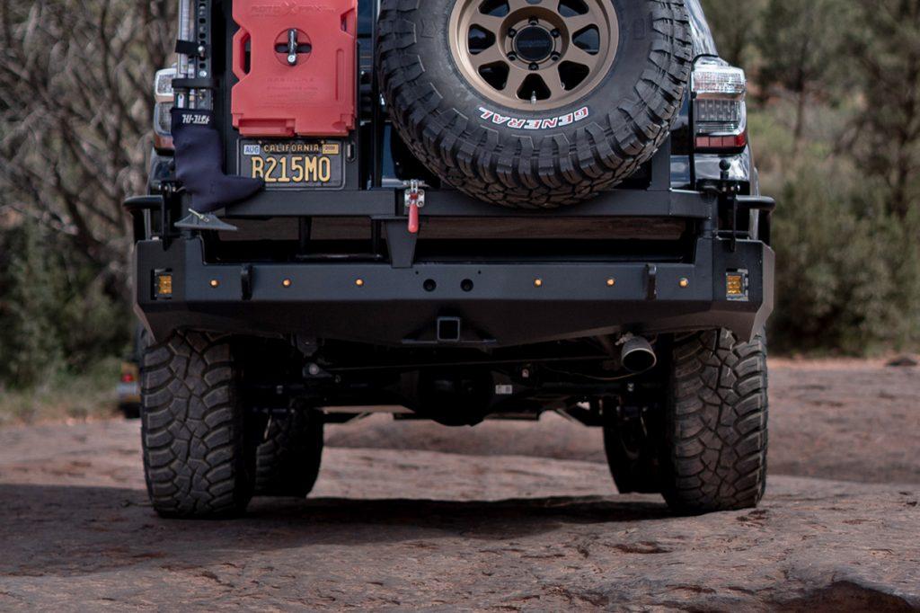 CBI Fabrications Full Rear Bumper for 5th Gen 4Runner