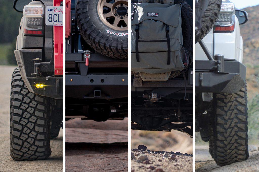 Rear Tire Carrier Options for 5th Gen 4Runner
