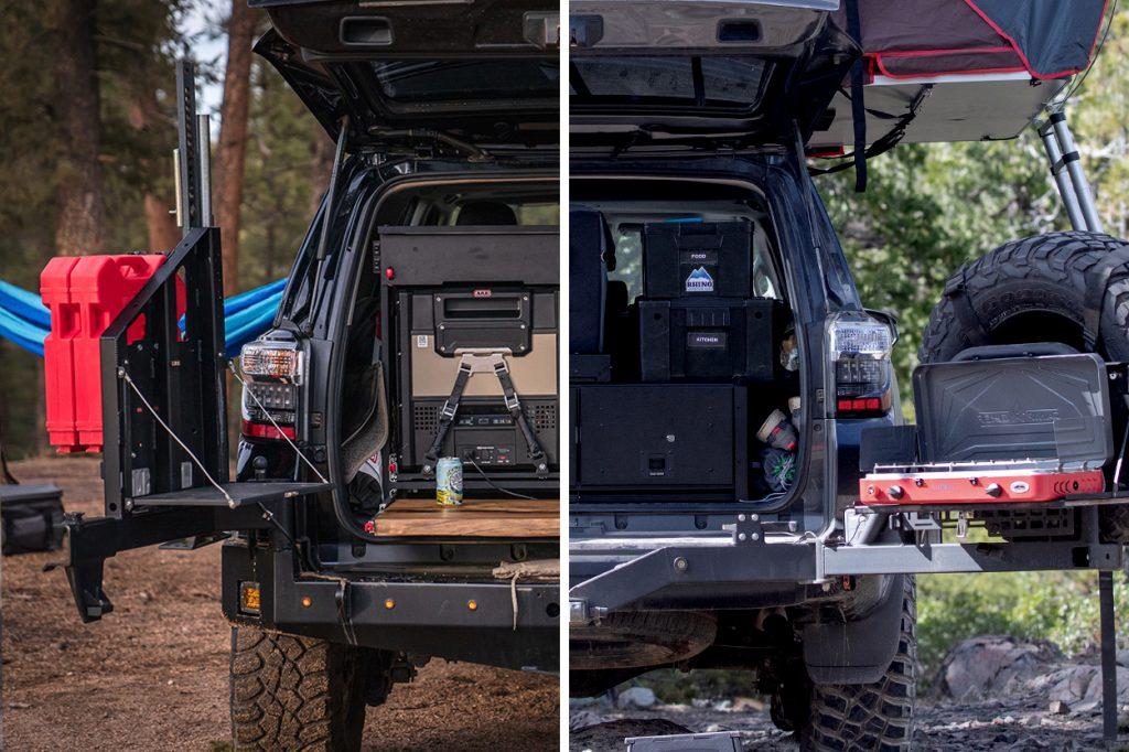 5th Gen 4Runner Rear Tire Carrier Options