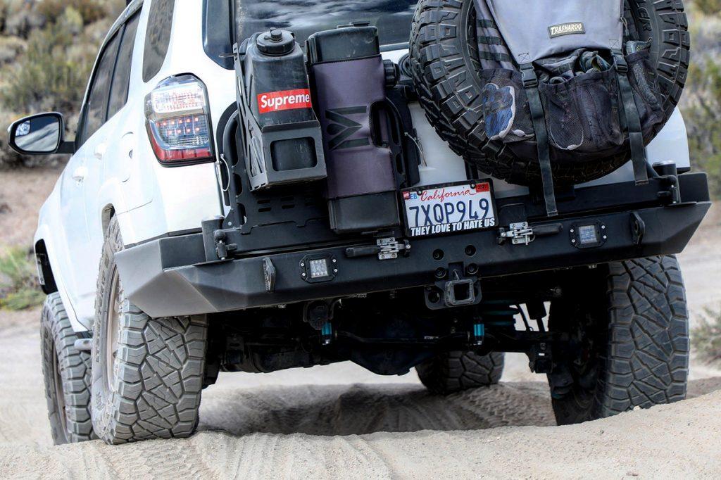 Brute Force Fabrication Rear Bumper Swingout