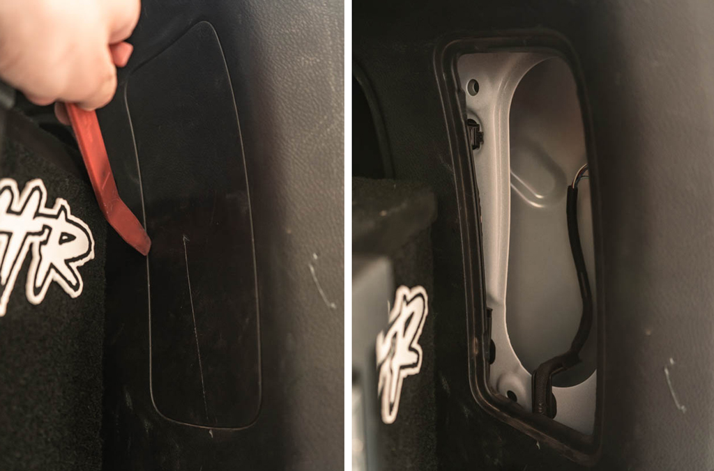 4Runner Rear Cargo Space Plastic Cover Removal
