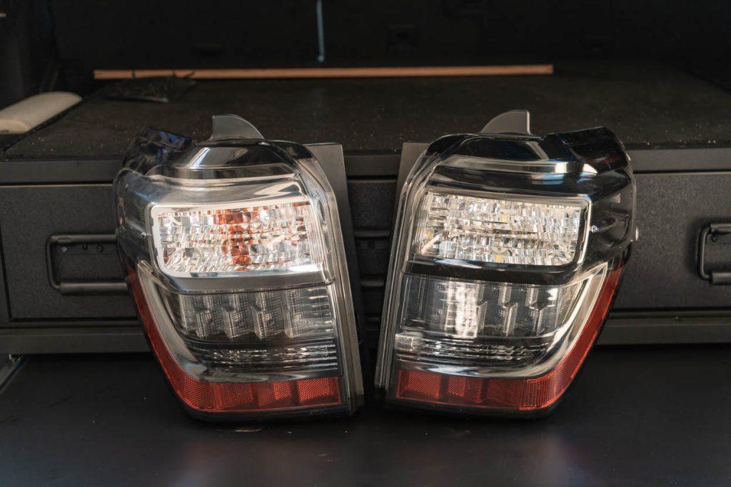 Depo Tail Light Vs OEM Tail Light