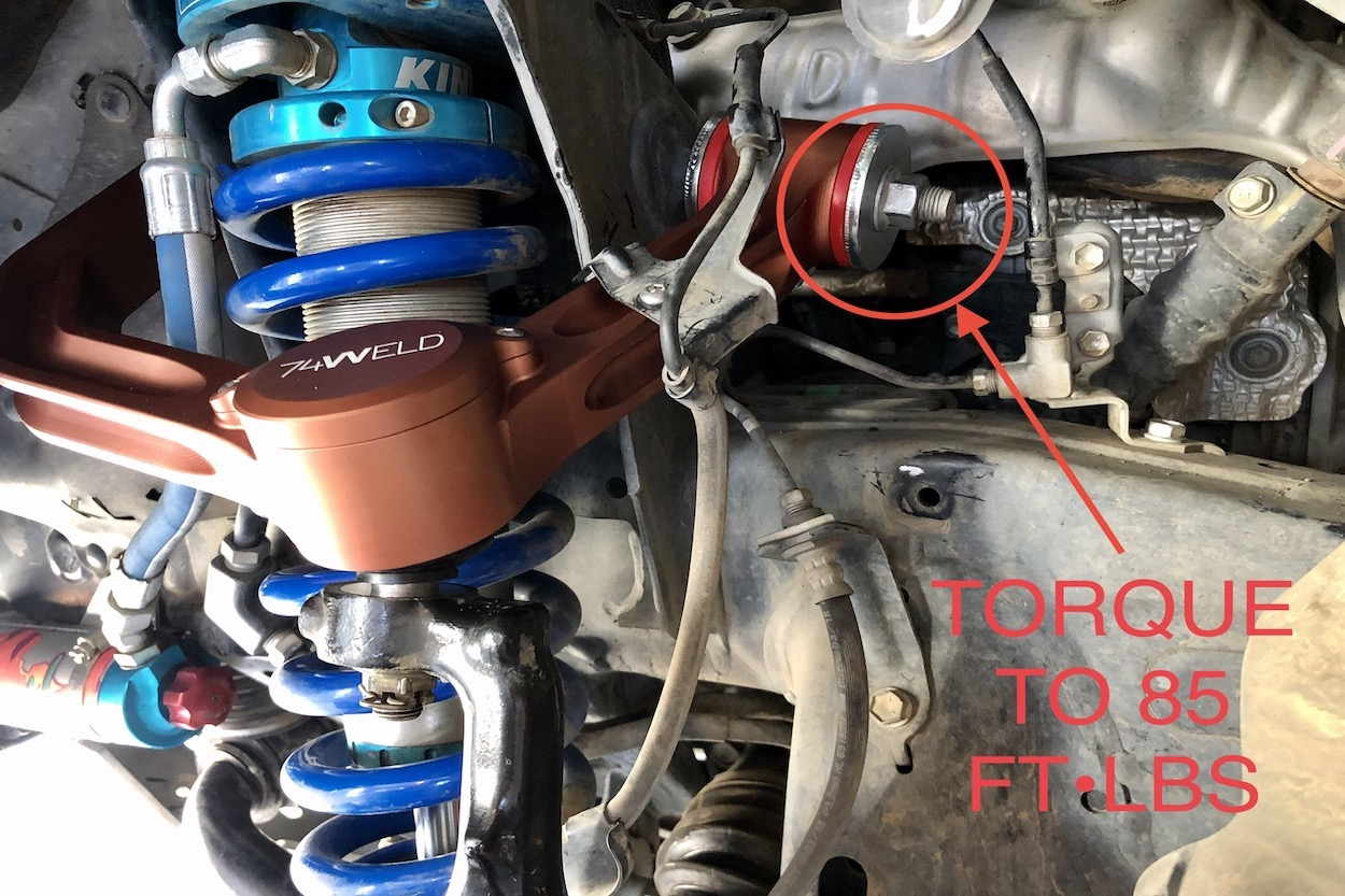 74 Weld Upper Control Arm Install and Review on 5th Gen 4Runner