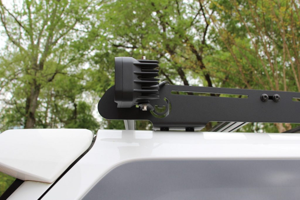 Prinsu Roof Rack Lasfit LED Light Mounting Solution