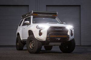 Blacked Out LED Retrofit Headlights by USR for the 5th Gen 4Runner
