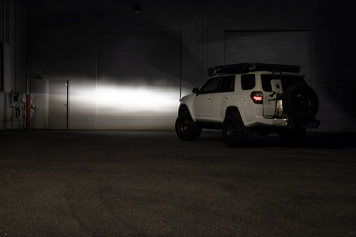 LED High Beam from USR - Beam Pattern and Review