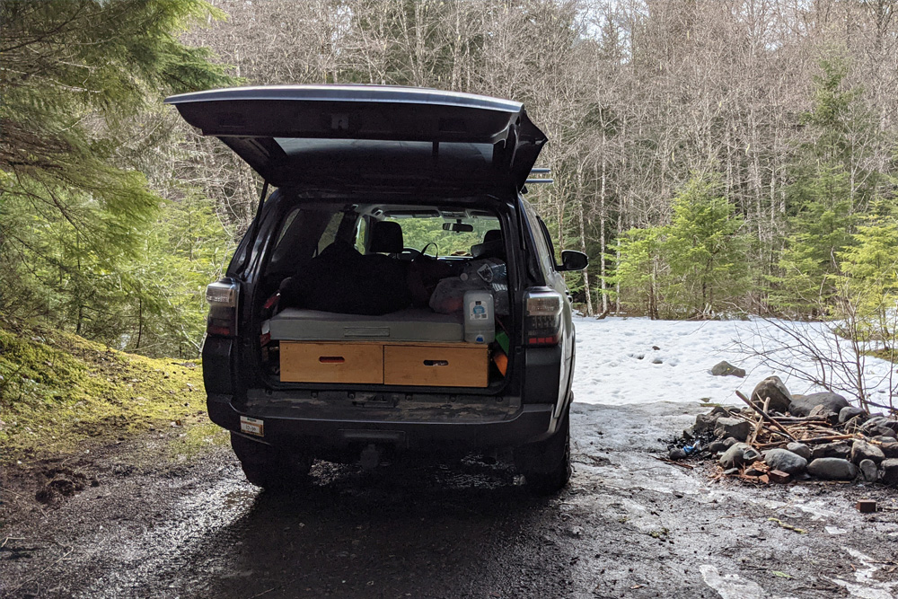 Budget Overlanding – What To Consider If You're Living in Your 5th Gen 4Runner for Months