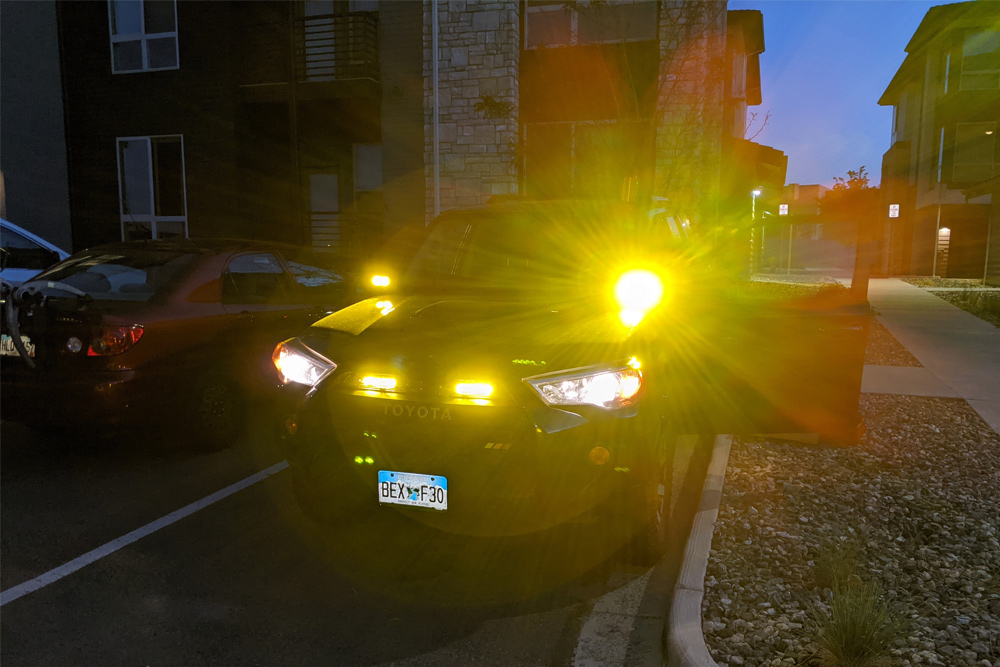 """Diode Dynamics 6"""" Stage Series SAE/DOT LED Driving Amber Lightbar Kit - Install and Review"""