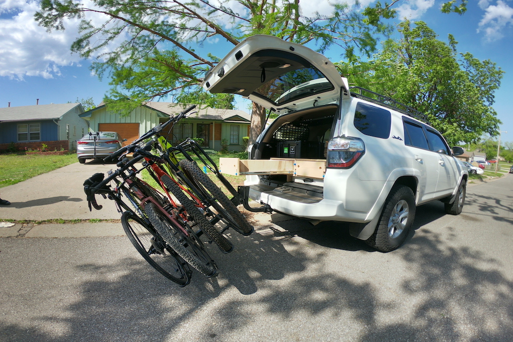 Elevate Outdoor Piggyback Hitch (4 Bike) Bike Rack - Full Review and User Guide