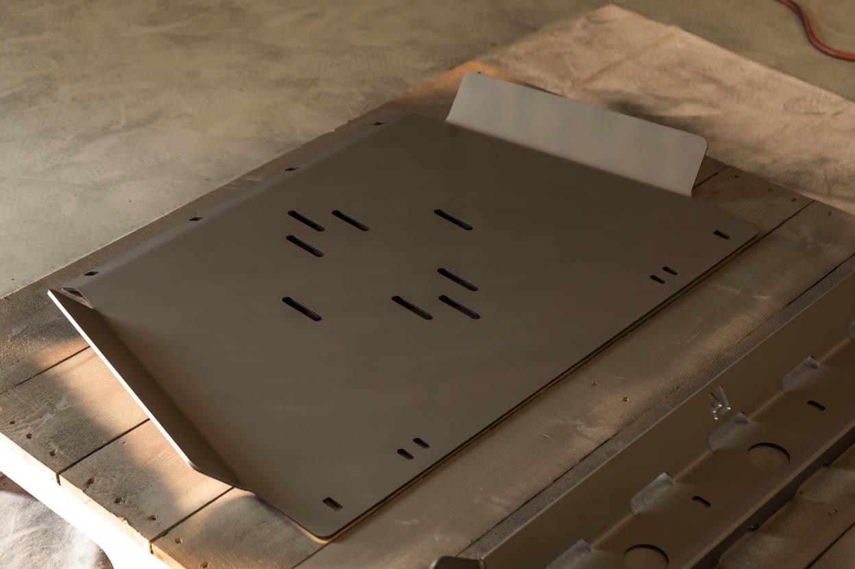 STEEL-IT Paint Settling Before Coatings