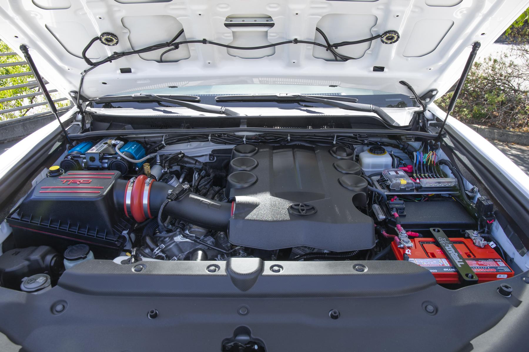 Clean Engine Bay Set-Up on Toyota 4Runner (5th Gen)