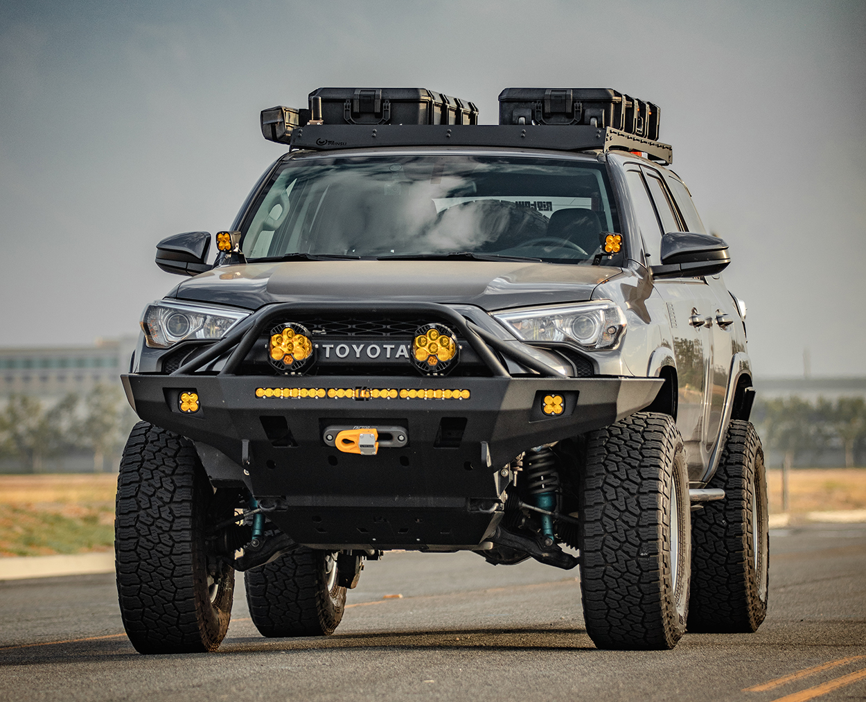 C4 Fabrication Overland Series Front Bumper