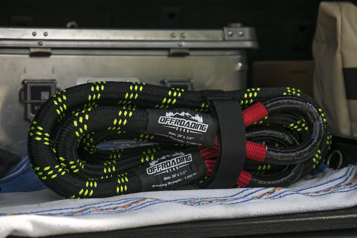 Offroading Gear Kinetic Recovery Snatch Rope