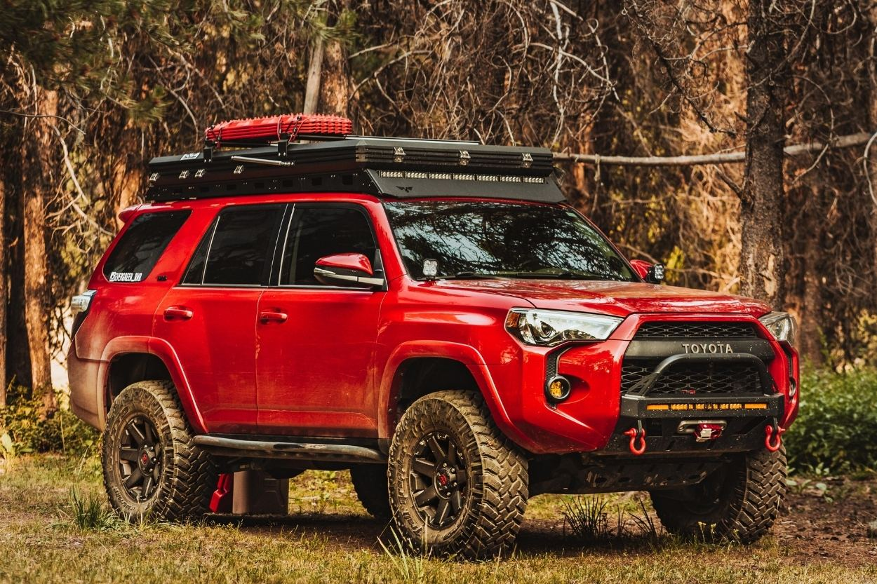 Feature Friday: Top 10 CNC Roof Rack Options - An Off-Road Rig Inspiration Guide
