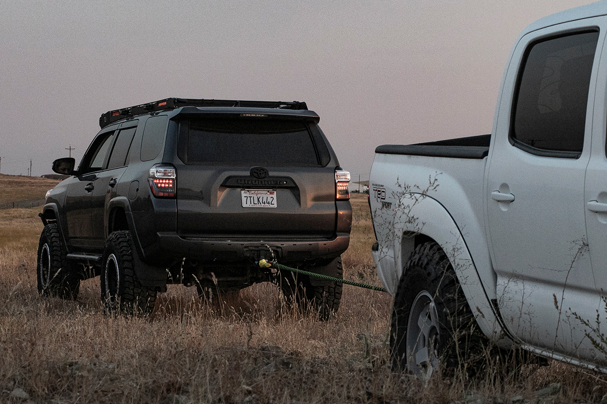 Rear Recovery Points on 5th Gen 4Runner